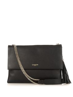 Sugar tassel medium leather shoulder bag | Lanvin | MATCHESFASHION.COM US