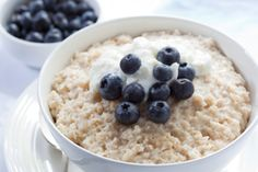 Berry Creamy Oatmeal | The Dr. Oz Show | Follow this Dr. Oz Recipe board Now and Make it later!