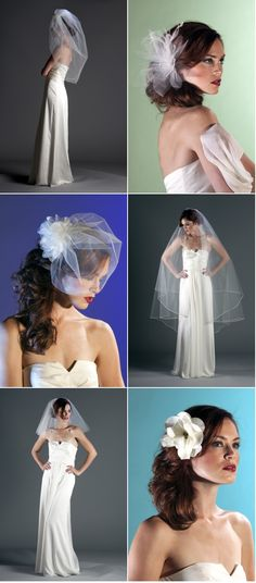 Hairpieces and veils