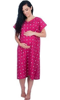 21629d5542268 Designer Hospital Maternity Delivery/Birthing/Labor Gown Gifts For Pregnant  Wife, Gifts For