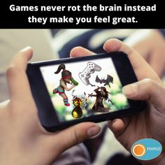 Games Never rot the brain they challenge you to fight with the nerves of your brain you probably don't use. Game Development Company, Your Brain, Challenges, Concept, Make It Yourself, Feelings, Games, Gaming, Toys
