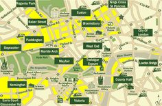 map of london districts - Google Search