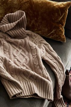 Lands' End | Gifts For Her | Pretty, warm, and easy to layer in full fashioned knitting that promises a flattering, stylish fit.
