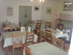 Aisseford tea room in the pretty village of Ashford-in-the-Water welcomes cyclists - check it out!