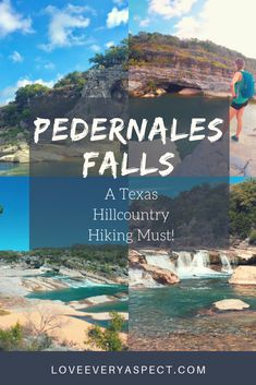 Texas hill country has so much to offer other than scenic drives, cute towns, and wine. This region is also known for some great hiking parks such as Pedernales Falls State Park. Read which hiking trails are the best and when to camp. #texashillcountry #texastravel #stateparks #hiking #camping