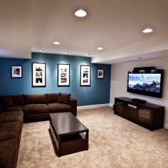 Brown Couch Design Ideas, Pictures, Remodel, and Decor - page 16 More More