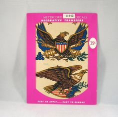 Vintage 1970s Meyercord Transfer Patriotic by VintageCreekside, $4.50