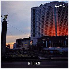 #nikeplus #myrun #running #run #afternoonrun #larisore #instarunner #lari #afternoon #landmark #jakarta #indonesia #GrandHyatt #HyattHotel #bunderanHI #hyattjakarta