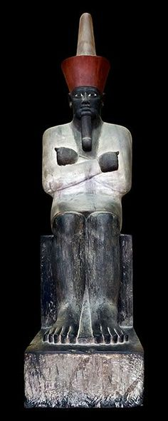 Pharaoh Mentuhotep I with His Fez-Crown-Tarboosh-Turban