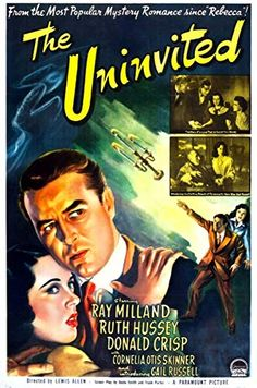 Directed by Lewis Allen. With Ray Milland, Ruth Hussey, Donald Crisp, Cornelia Otis Skinner. A composer and his sister discover that the reason they are able to purchase a beautiful gothic seacoast mansion very cheaply is the house's unsavory past. Oliver Reed, Jane Eyre, Skyfall, Quentin Tarantino, Blade Runner, Alfred Hitchcock Quotes, Ghost Film, American Haunting, Ruth Hussey