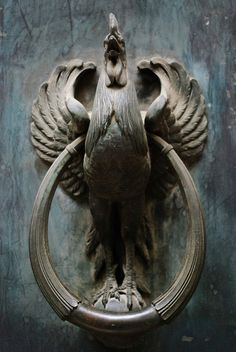 Iron Rooster / Heurtoir Gaulois in Paris