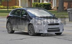 2016 Ford Focus RS Spy Photos: We. Want.
