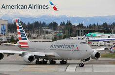 American Boeing 747-8