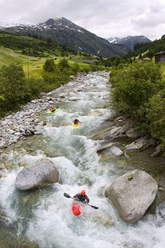 Feature Switzerland Canoe/kayak Whitewater