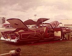 Santo Vasques' 1950 Chevrolet was scalloped by Larry Watson in 1957