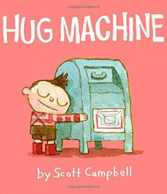 Watch out world, here he comes! The Hug Machine!  Whether you are big, or small, or square, or long, or spikey, or soft, no one can resist his unbelievable hugs! HUG ACCOMPLISHED!  This endearing story encourages a warm, caring, and buoyantly affectionate approach to life. Everyone deserves a hug!