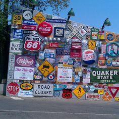 Road signs, Albuquerque New Mexico