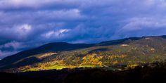 Chasing the autumn light. Watched the clouds fill the sky. Nope, morning light wasn't happening. Ending Story, Autumn Lights, Morning Light, Photographers, Clouds, Sky, Mountains, Lighting, Blog