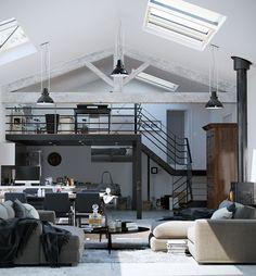 "homedesigning: "" (via Lofted Luxury) """