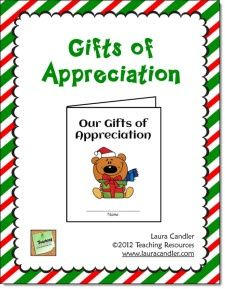 Classroom Freebies: Gifts of Appreciation Holiday Card Freebie
