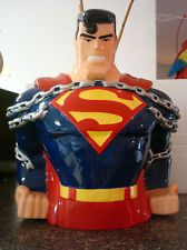 Superman Chains  Collectable DC Comics Cookie Jar