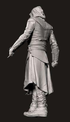 ArtStation - Assassin's Creed: Aguilar McFarlane Toys , Marcellus Barnes 2