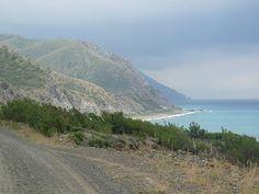 the road from Arsuz to Samandağ on the way to Hatay-Antakya