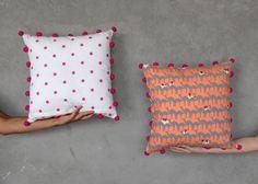 Delhi-based textile studio Safomasi create illustrative textiles with exotic naratives Animal Cushions, Small Cushions, Floral Cushions, Bolster Cushions, Embroidered Cushions, Decorative Cushions, Contemporary Cushions, Modern Cushions, Diy Throw Pillows