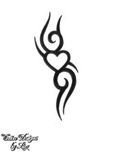 Tribal Tattoos for Women | tattoo design - Tribal III383 -- Tattoo Designs Art