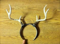 Handmade Realistic Deer Antlers Headband for Cosplay and Costumes Fawn/Faun by QualityFlowerCrowns on Etsy https://www.etsy.com/listing/197849604/handmade-realistic-deer-antlers-headband