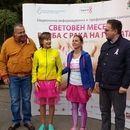 568 души бягаха с розови полички в подкрепа на жените с рак на гърдата  #бягане #подкрепа #ракнагърдата #еднаот8 http://www.mamatatkoiaz.bg/article/251/568-dushi-bqgaha-s-rozovi-polichki-v-podkrepa-na-jenite-s-rak-na-gyrdata