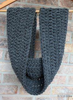 Mix it Up Crochet Scarf Pattern