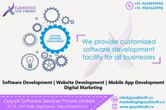 Gayatri software is the best in website, software, Hybrid Mobile app development, Digital Marketing, and Product development. Web Development Company, Software Development, Business Software, Mobile App, Digital Marketing, Mobile Applications
