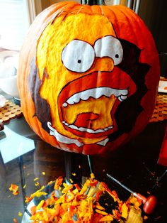 Homer - Halloween Pumpkin
