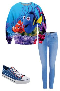 Dory Outfit by idk-clothes-and-stuff on Polyvore featuring polyvore fashion style Paige Denim clothing