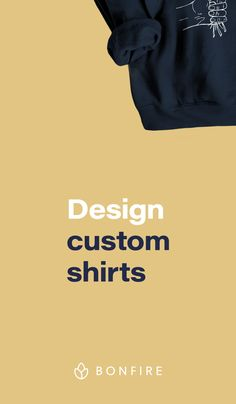 Design and sell custom t-shirts online with no risk. Custom Design Shirts, Custom Shirts, Shirt Designs, Web Design, Graphic Design, Art Graphique, Extra Money, Tshirts Online, Custom Clothes