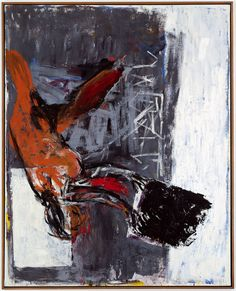 Georg Baselitz, Rückenwind. Strandbild 8, 1981