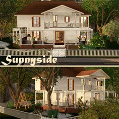 Sunnyside - House by KattyCreations at BTB Sims - Sims 3 Finds