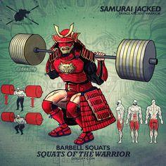 samurai squats for legs - leg exercise