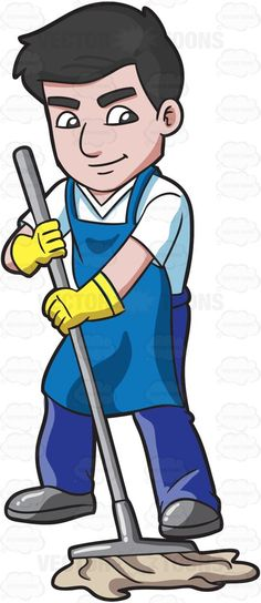 Funny Cleaning Clipart Clipart Kid My Clip Art