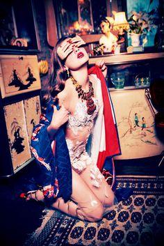 Milan van Eeeten by Ellen von Unwerth for Vogue Japan June 2016