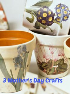3 Kid Friendly Mother's Day Crafts