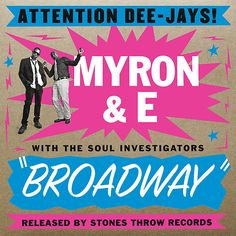 MYRON & E with the Soul Investigators BROADWAY 2013