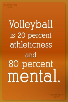 Volleyball Quotes and Sayings (225 quotes) - CoolNSmart