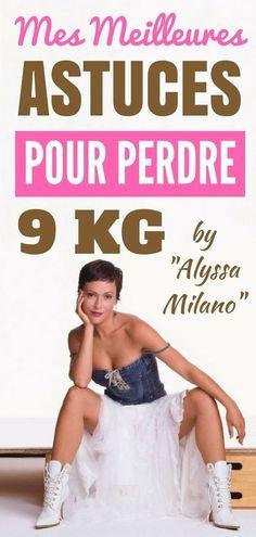 Alyssa Milano est devenue une adepte du régime Atkins (elle voulait perdre ses 9 derniers kilos). Sa perte de poids s'est si bien passée qu'au lieu de simplement l'utiliser comme moyen de perdre du poids rapidement, elle l'a transformée en mode de vie. Voici quelques-unes de ses techniques les plus efficaces pour perdre du poids rapidement et maigrir sainement. Pour perdre du poids, elle adopte un régime ... #maigrir #perdredupoids #perdreduventre #régime #poids #calories