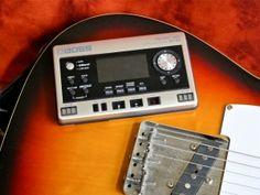 Boss BR-80 Micro BR & Fender Telecaster; read the review @ Kitarablogi.com