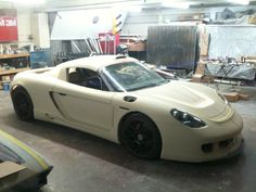 Grant James custom Porsche build...he's going to make bodies available. Boxster chassis