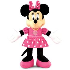 Fisher-Price Disney's Minnie Mouse Plush Singer  #toys #mickey mouse