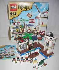 100% COMPLETE BOXED LEGO SET 6242  SOLDIERS' FORT  PIRATES +  INSTRUCTIONS Lego For Sale, Lego Sets, Soldiers, Pirates, Lego Games
