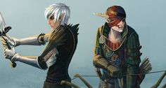 Dragon Age and Witcher 2